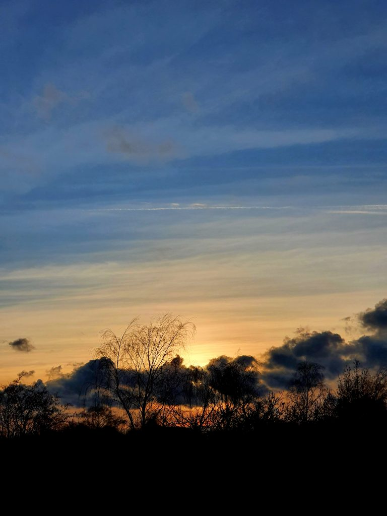 Sunset Yesterday